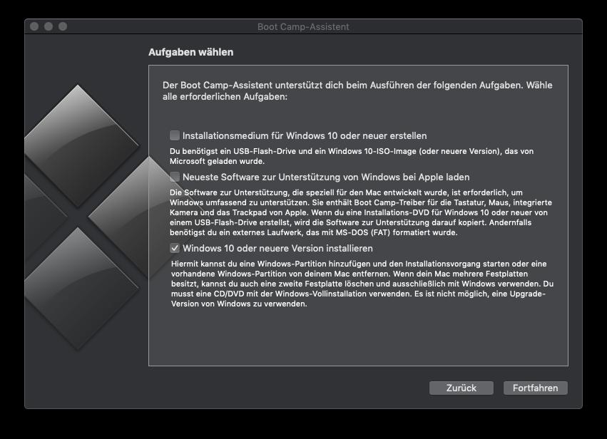 Boot Camp Neustes Windows 10 Installieren It Service